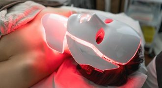LED light therapy in action | skin treatment