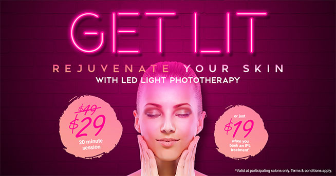 get lit | LED light phototherapy